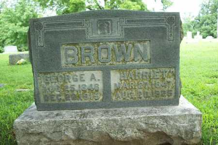 BROWN, GEORGE A. - Benton County, Arkansas | GEORGE A. BROWN - Arkansas Gravestone Photos