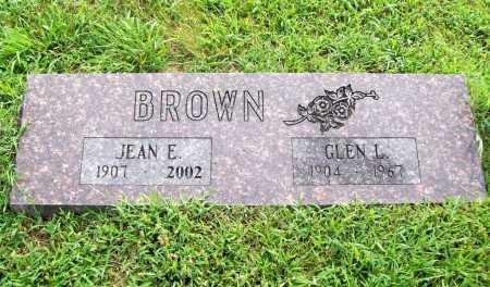 BROWN, GLEN L. - Benton County, Arkansas | GLEN L. BROWN - Arkansas Gravestone Photos