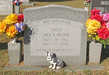 "BROWN, JACK N ""JOSEPH"" - Benton County, Arkansas 
