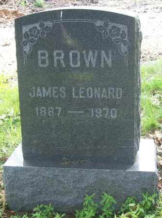BROWN, JAMES LEONARD - Benton County, Arkansas | JAMES LEONARD BROWN - Arkansas Gravestone Photos