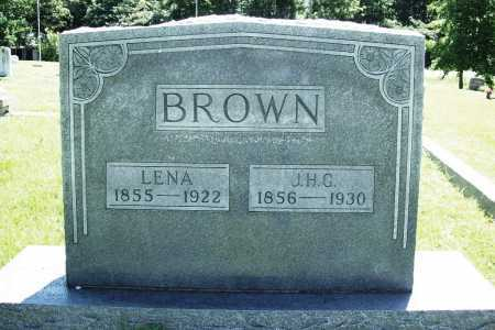 BROWN, J. H. G. - Benton County, Arkansas | J. H. G. BROWN - Arkansas Gravestone Photos