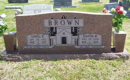 BROWN, LOWELL H. - Benton County, Arkansas | LOWELL H. BROWN - Arkansas Gravestone Photos