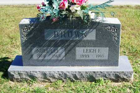 BROWN, NORA LEE - Benton County, Arkansas | NORA LEE BROWN - Arkansas Gravestone Photos
