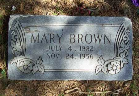 BROWN, MARY - Benton County, Arkansas | MARY BROWN - Arkansas Gravestone Photos