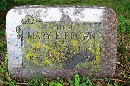BROWN, MARY E. - Benton County, Arkansas | MARY E. BROWN - Arkansas Gravestone Photos