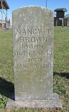 NOBLITT BROWN, NANCY - Benton County, Arkansas | NANCY NOBLITT BROWN - Arkansas Gravestone Photos