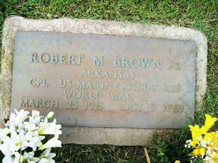 BROWN, JR (VETERAN WWII), ROY M - Benton County, Arkansas | ROY M BROWN, JR (VETERAN WWII) - Arkansas Gravestone Photos