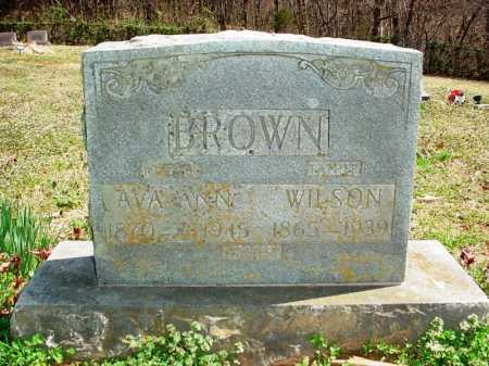 BROWN, WILSON - Benton County, Arkansas | WILSON BROWN - Arkansas Gravestone Photos