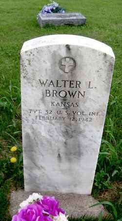 BROWN, WALTER LAFAYETTE - Benton County, Arkansas | WALTER LAFAYETTE BROWN - Arkansas Gravestone Photos