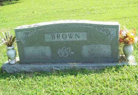 BROWN, WALTER - Benton County, Arkansas | WALTER BROWN - Arkansas Gravestone Photos