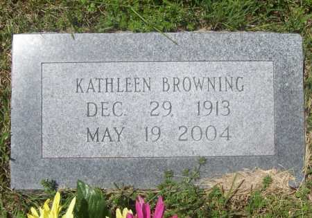 BROWNING, KATHLEEN - Benton County, Arkansas | KATHLEEN BROWNING - Arkansas Gravestone Photos