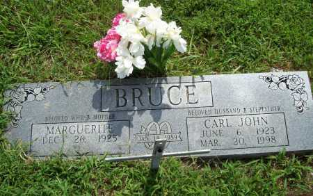 BRUCE, CARL JOHN - Benton County, Arkansas | CARL JOHN BRUCE - Arkansas Gravestone Photos