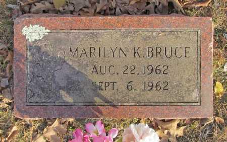 BRUCE, MARILYN K. - Benton County, Arkansas | MARILYN K. BRUCE - Arkansas Gravestone Photos