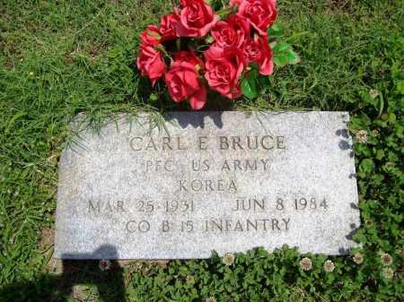BRUCE (VETERAN KOR), CARL E. - Benton County, Arkansas | CARL E. BRUCE (VETERAN KOR) - Arkansas Gravestone Photos