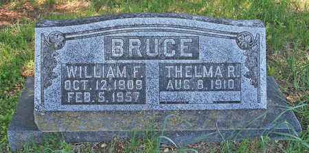 BRUCE, WILLIAM F - Benton County, Arkansas | WILLIAM F BRUCE - Arkansas Gravestone Photos