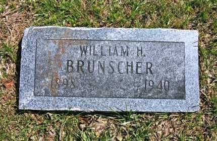 BRUNSCHER, WILLIAM H. - Benton County, Arkansas | WILLIAM H. BRUNSCHER - Arkansas Gravestone Photos