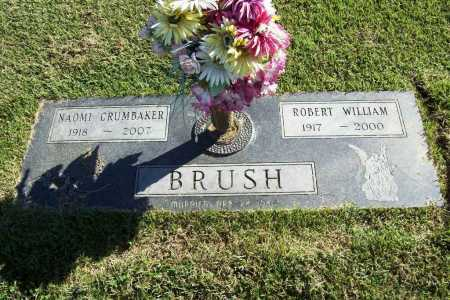 CRUMBAKER BRUSH, NAOMI - Benton County, Arkansas | NAOMI CRUMBAKER BRUSH - Arkansas Gravestone Photos