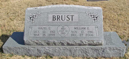 BRUST, HAZEL C - Benton County, Arkansas | HAZEL C BRUST - Arkansas Gravestone Photos
