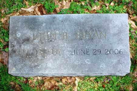 BRYAN, JOHN B. - Benton County, Arkansas | JOHN B. BRYAN - Arkansas Gravestone Photos