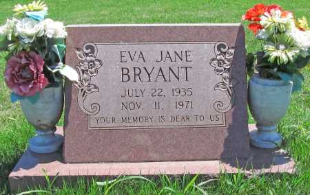 KENNEDY BRYANT, EVA JANE - Benton County, Arkansas | EVA JANE KENNEDY BRYANT - Arkansas Gravestone Photos