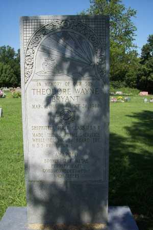 BRYANT (VETERAN WWII; KIA), THEODORE WAYNE - Benton County, Arkansas | THEODORE WAYNE BRYANT (VETERAN WWII; KIA) - Arkansas Gravestone Photos