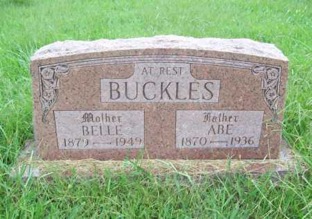 BUCKLES, ABE - Benton County, Arkansas | ABE BUCKLES - Arkansas Gravestone Photos