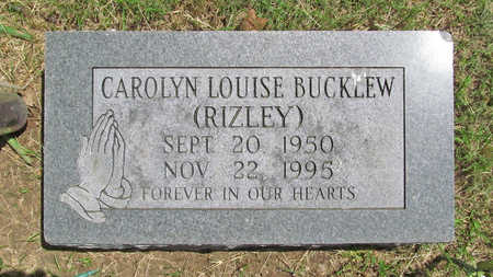 BUCKLEW, CAROLYN LOUISE - Benton County, Arkansas | CAROLYN LOUISE BUCKLEW - Arkansas Gravestone Photos