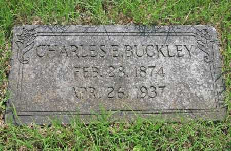 BUCKLEY, CHARLES E. - Benton County, Arkansas | CHARLES E. BUCKLEY - Arkansas Gravestone Photos