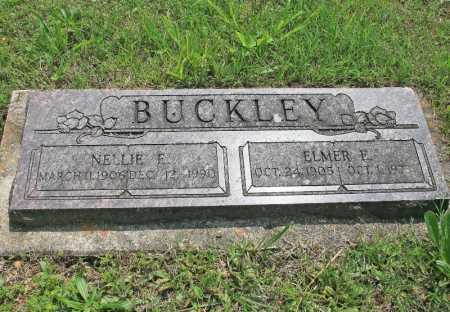 BUCKLEY, NELLIE E. - Benton County, Arkansas | NELLIE E. BUCKLEY - Arkansas Gravestone Photos