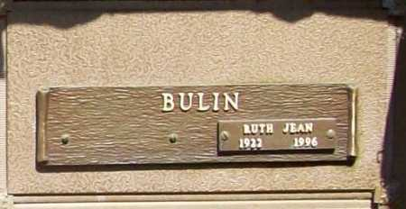 BULIN, RUTH JEAN - Benton County, Arkansas | RUTH JEAN BULIN - Arkansas Gravestone Photos