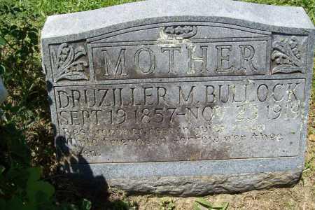 BULLOCK, DRUZILLER M. - Benton County, Arkansas | DRUZILLER M. BULLOCK - Arkansas Gravestone Photos