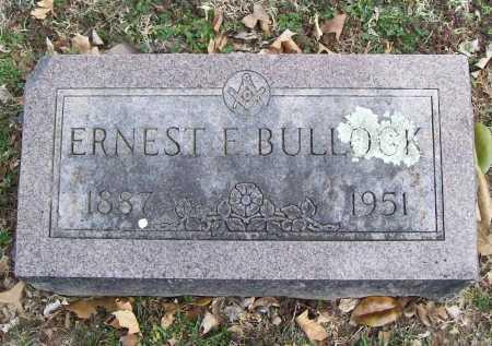 BULLOCK, ERNEST E. - Benton County, Arkansas | ERNEST E. BULLOCK - Arkansas Gravestone Photos