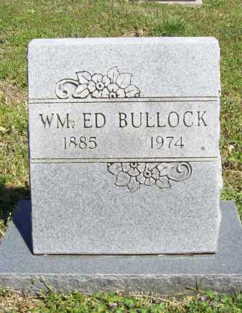 BULLOCK, WILLIAM ED - Benton County, Arkansas | WILLIAM ED BULLOCK - Arkansas Gravestone Photos