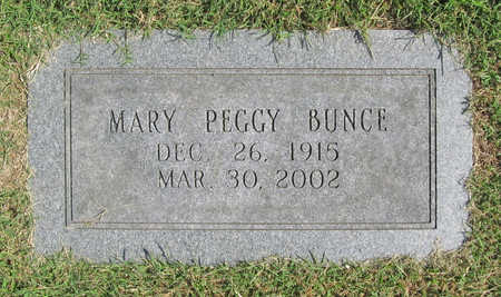 WALKER BUNCE, MARY PEGGY - Benton County, Arkansas | MARY PEGGY WALKER BUNCE - Arkansas Gravestone Photos