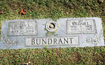 BUNDRANT, EVELYN L. - Benton County, Arkansas | EVELYN L. BUNDRANT - Arkansas Gravestone Photos