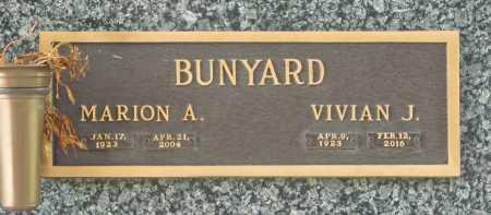 BUNYARD (VETERAN WWII), MARION A - Benton County, Arkansas | MARION A BUNYARD (VETERAN WWII) - Arkansas Gravestone Photos