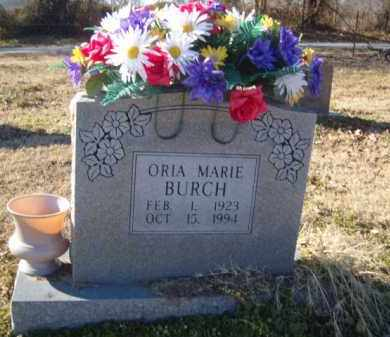 BURCH, ORIA MARIE - Benton County, Arkansas | ORIA MARIE BURCH - Arkansas Gravestone Photos
