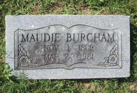 BURCHAM, MAUDIE - Benton County, Arkansas | MAUDIE BURCHAM - Arkansas Gravestone Photos