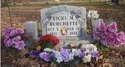 BRENNER BURCHETTE, VICIKI - Benton County, Arkansas | VICIKI BRENNER BURCHETTE - Arkansas Gravestone Photos