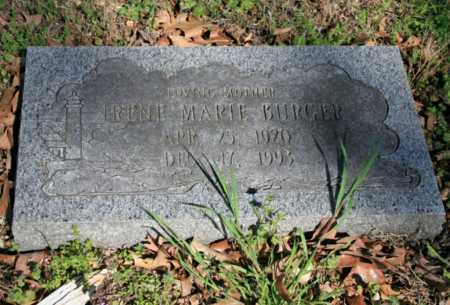 BURGER, IRENE MARIE - Benton County, Arkansas | IRENE MARIE BURGER - Arkansas Gravestone Photos