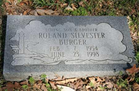 BURGER, ROLAND SILVESTER - Benton County, Arkansas | ROLAND SILVESTER BURGER - Arkansas Gravestone Photos