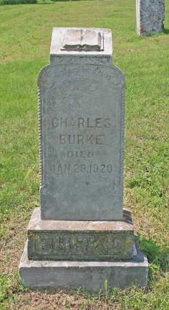 BURKE, CHARLES - Benton County, Arkansas | CHARLES BURKE - Arkansas Gravestone Photos