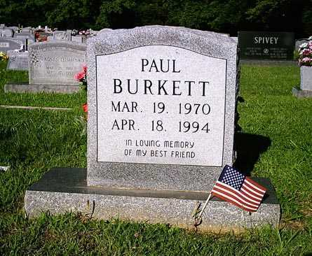 BURKETT, PAUL - Benton County, Arkansas | PAUL BURKETT - Arkansas Gravestone Photos
