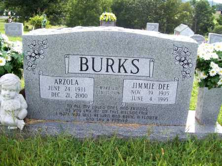 BURKS, JIMMIE DEE - Benton County, Arkansas | JIMMIE DEE BURKS - Arkansas Gravestone Photos