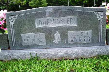 BURMEISTER, LOUIS H. - Benton County, Arkansas | LOUIS H. BURMEISTER - Arkansas Gravestone Photos