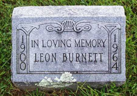BURNETT, LEON - Benton County, Arkansas | LEON BURNETT - Arkansas Gravestone Photos