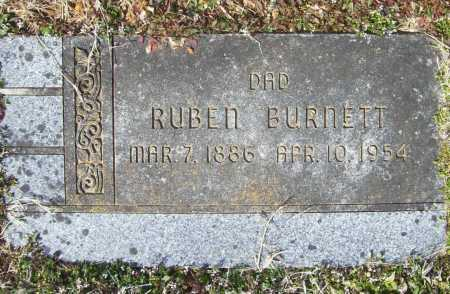 BURNETT, RUBEN - Benton County, Arkansas | RUBEN BURNETT - Arkansas Gravestone Photos
