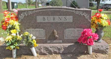 BURNS, HOMER R. (REV.) - Benton County, Arkansas | HOMER R. (REV.) BURNS - Arkansas Gravestone Photos