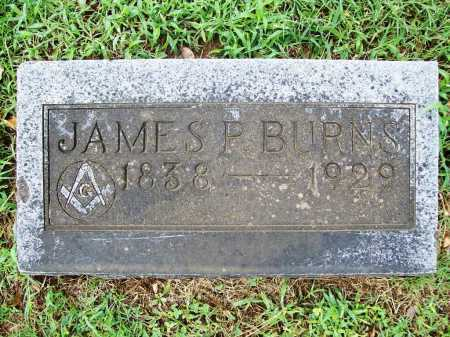 BURNS (VETERAN CSA), JAMES P - Benton County, Arkansas | JAMES P BURNS (VETERAN CSA) - Arkansas Gravestone Photos