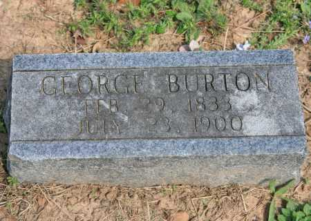 BURTON, GEORGE - Benton County, Arkansas | GEORGE BURTON - Arkansas Gravestone Photos